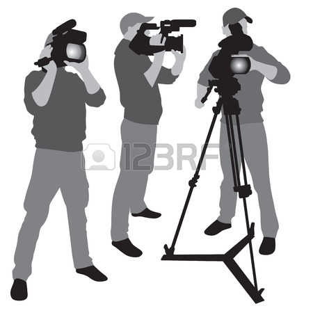 1,797 Camera Operator Cliparts, Stock Vector And Royalty Free.