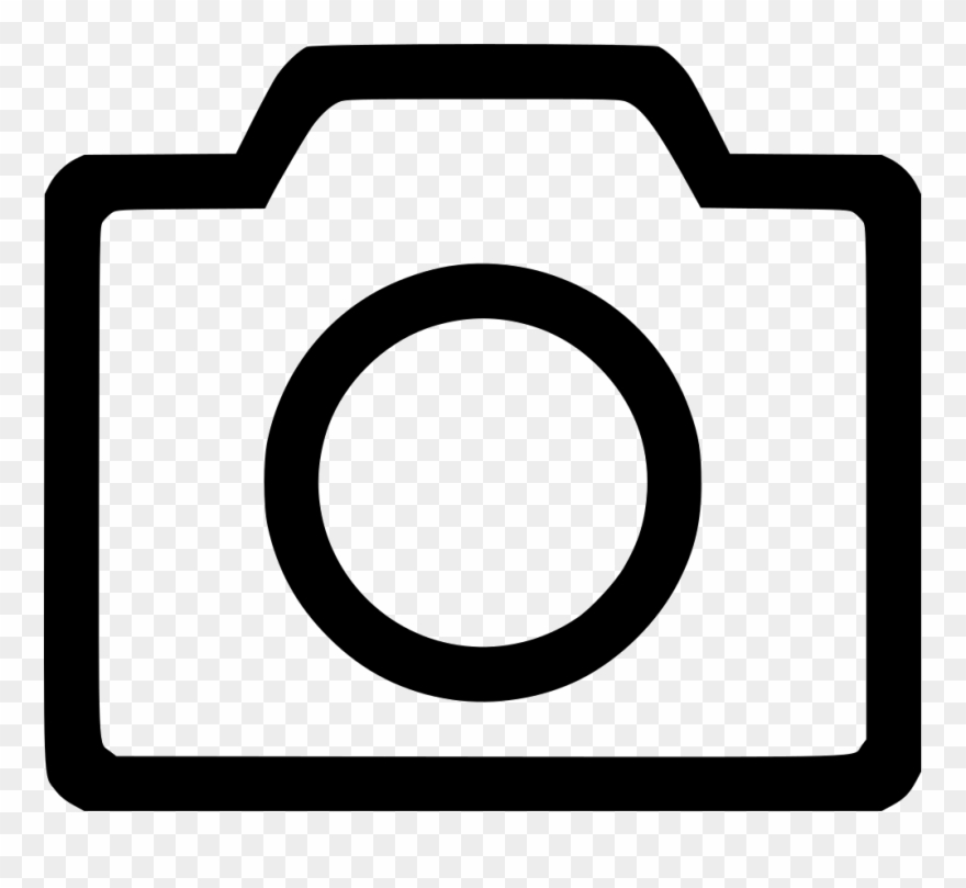 Camera Outline Icon Png Clipart (#156511).