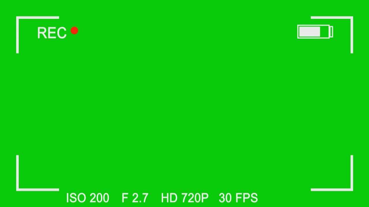 FREE Green Screen Overlay #8.