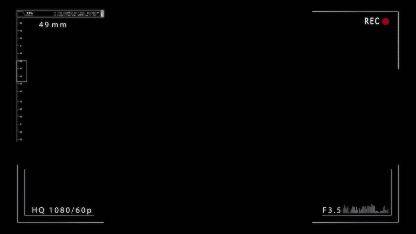 Camera Viewfinder Alpha Mate.png Alpha.file Stock Footage Video (100%  Royalty.