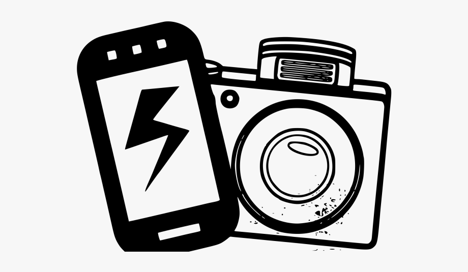 Photography Clipart Phone Camera.