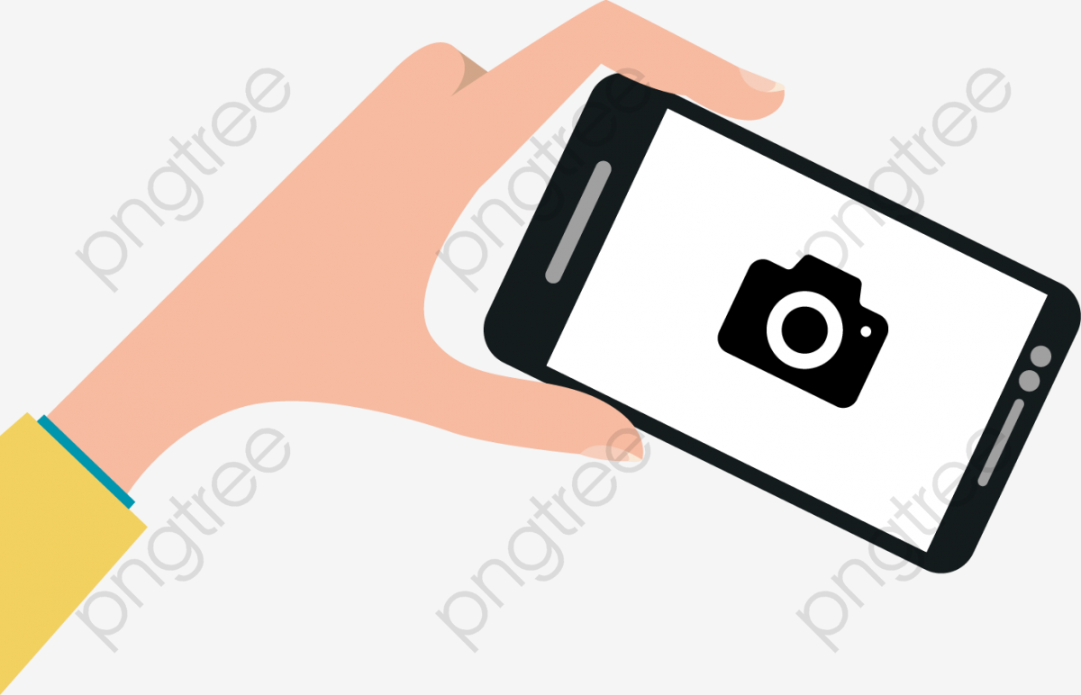 Cell Phone Camera, Phone, Hand, Photograph PNG and Vector with.