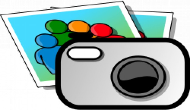 Camera clipart Vector.