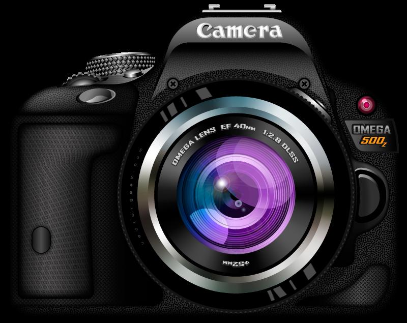 Photo Camera PNG Transparent Images.