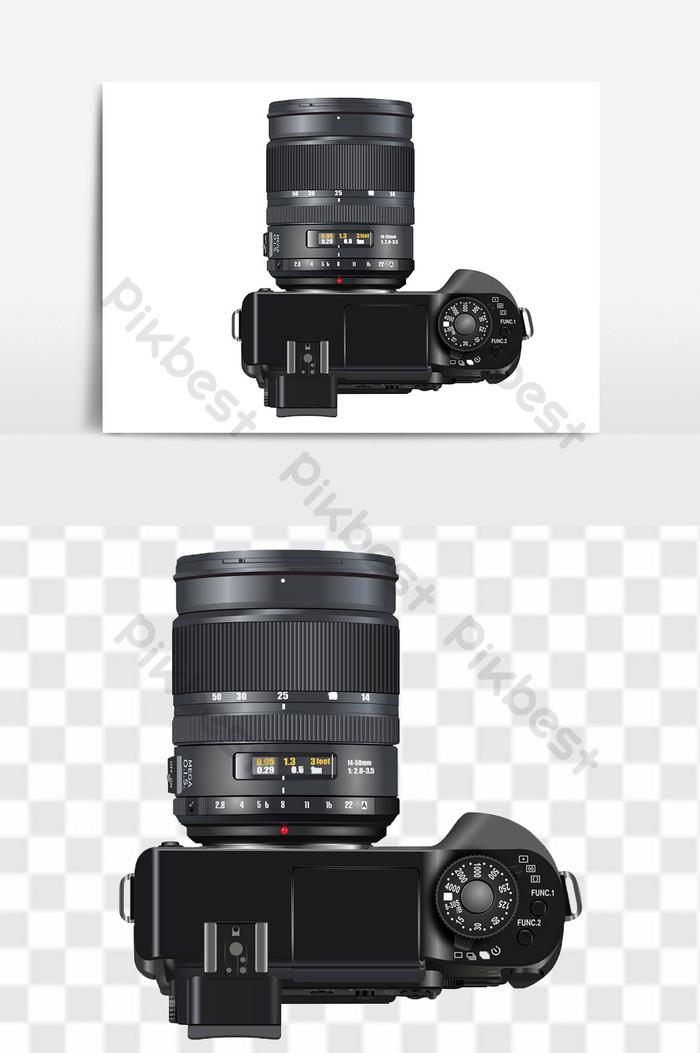 Digital SLR camera PNG transparent background free.