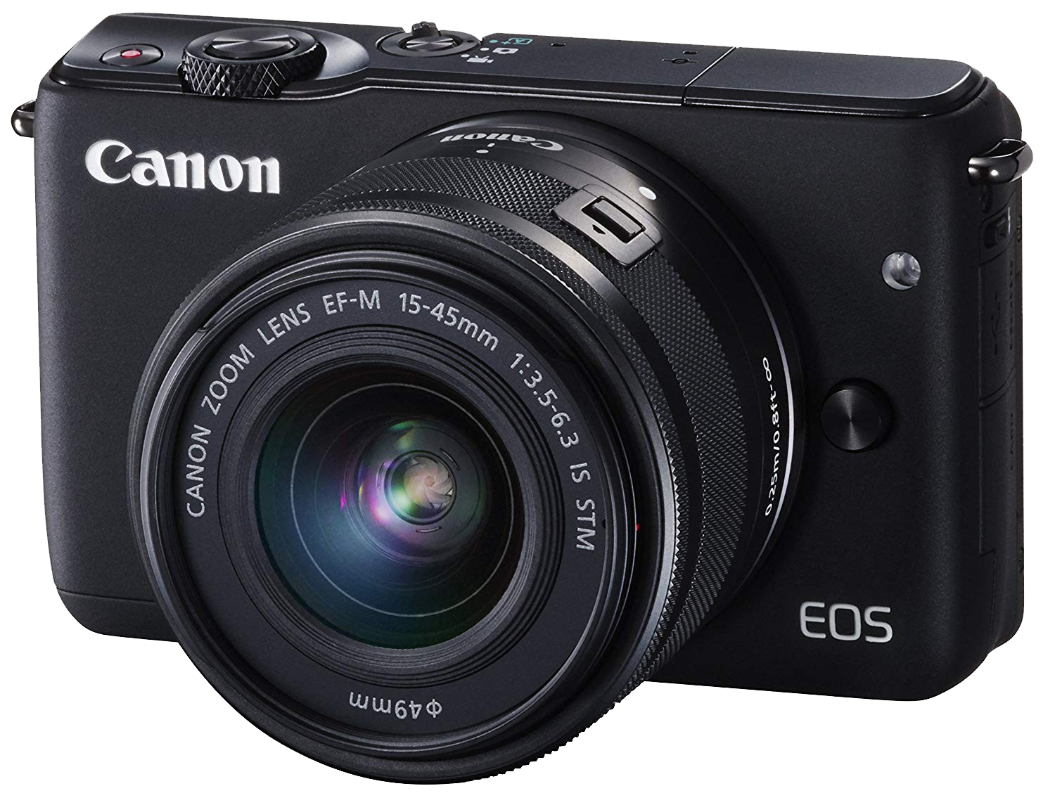 Canon Camera PNG Free Background.