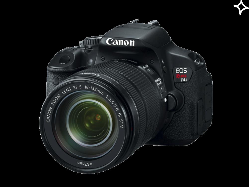 Download Digital SLR Camera PNG HD For Designing Work.
