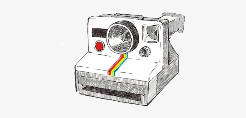 28 Collection Of Polaroid Camera Tumblr Drawing.