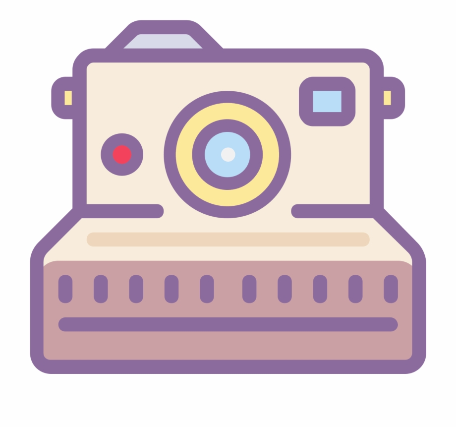 Tumblr Png Pink Polaroid Camera.