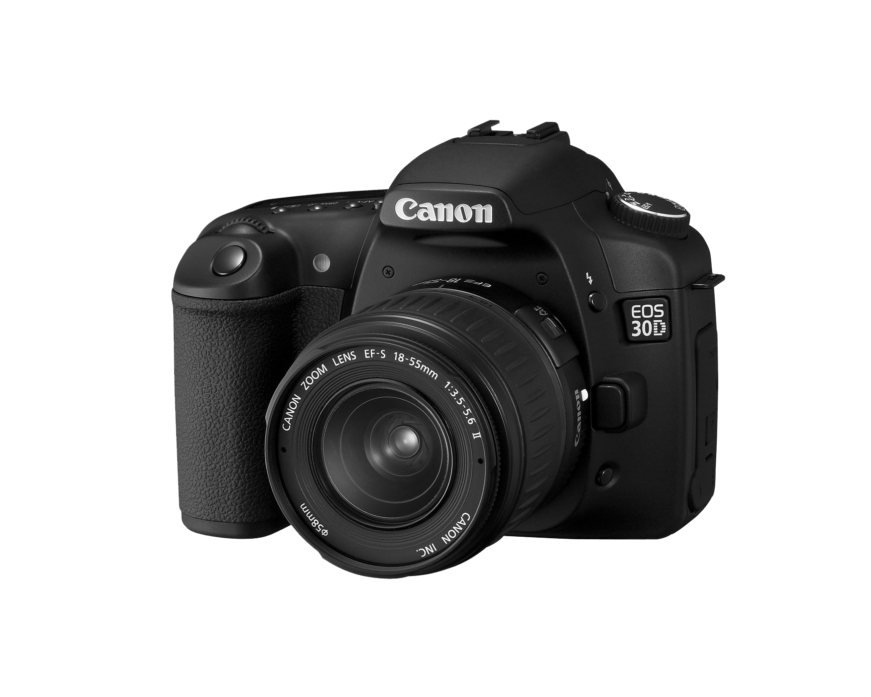 Canon Eos 30 Photo Camera transparent PNG.