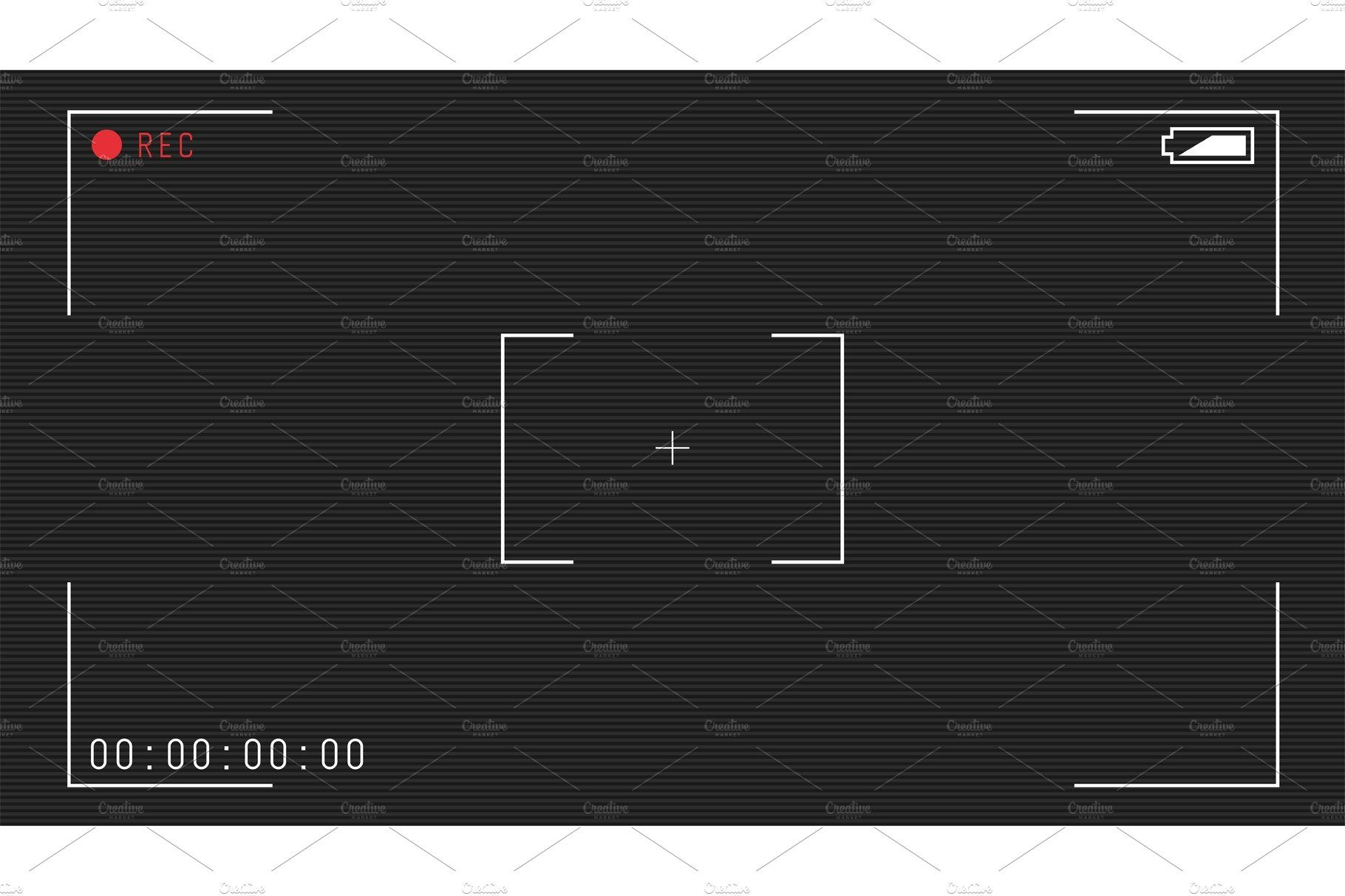 Video camera overlay , #spon, #hd#full#format#template #Ad.