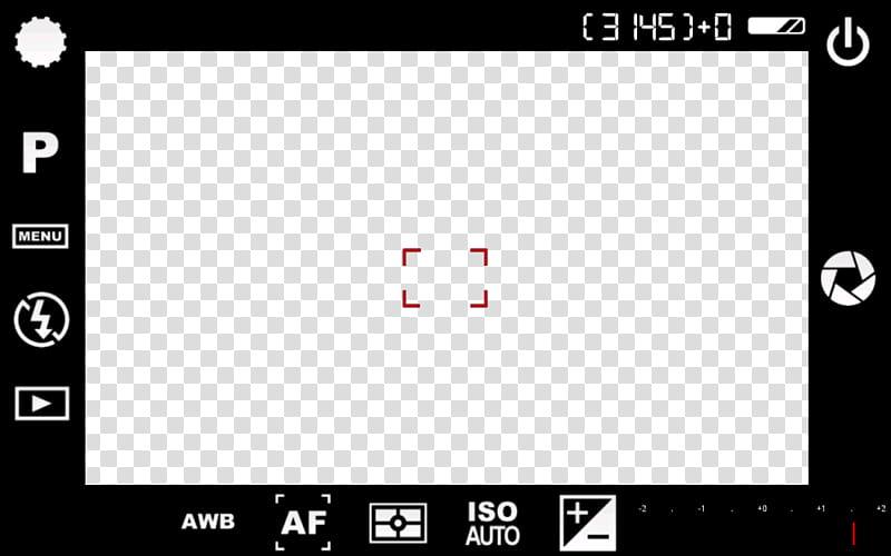 Screenshot Camara , camera screen transparent background PNG clipart.