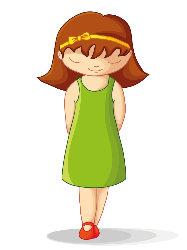Collection of Shy clipart.