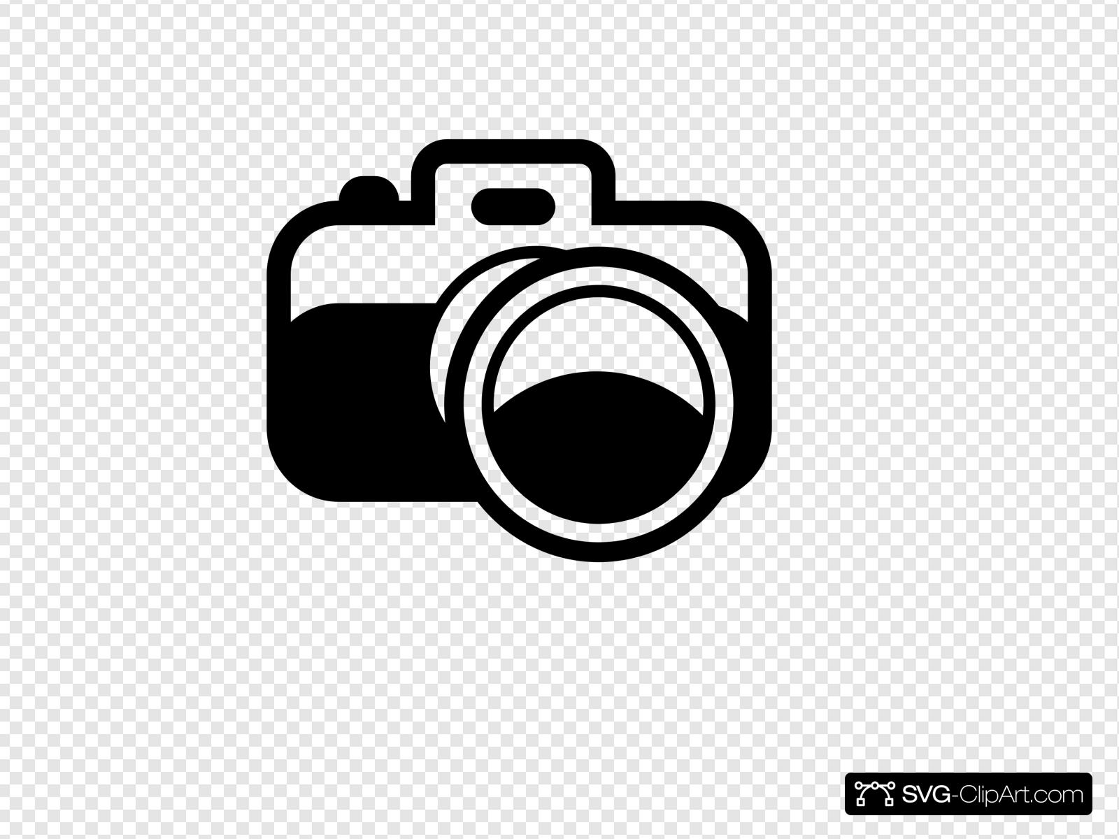 Camera Silhouette Clip art, Icon and SVG.
