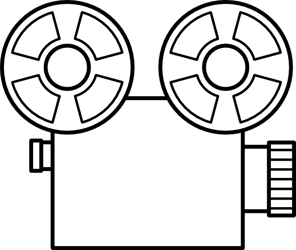 Camera Template Clipart.