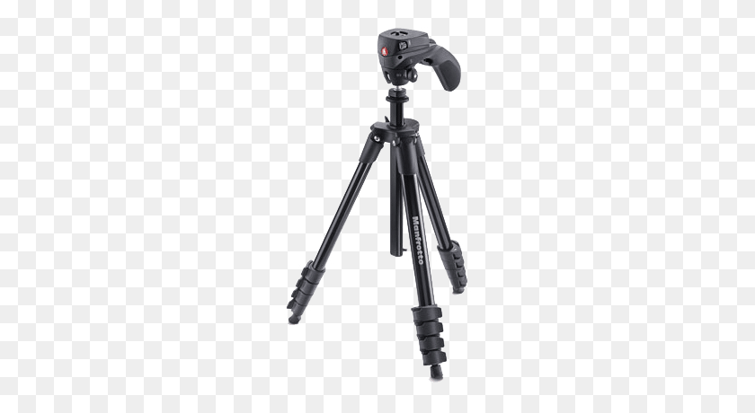 Manfrotto Compact Action Tripod.