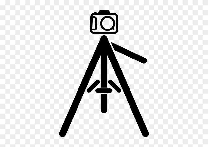 Video Camera Tripod Png Icon Image.