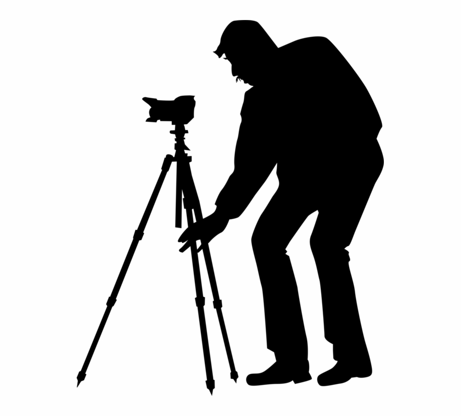 Photography Clipart Photographer Silhouette.
