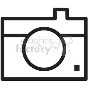 photo camera vector icon . Royalty.