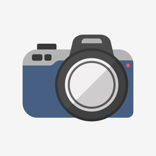 Blue Camera Vector Clipart, Blue, Symbol, Logo PNG and Vector with.