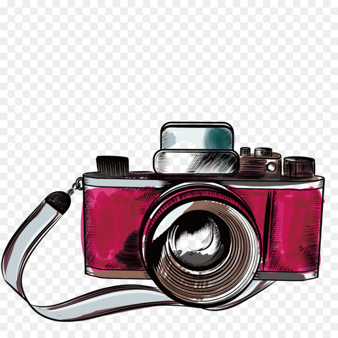 Png Camera Drawing Photography Illustration Vector Old.