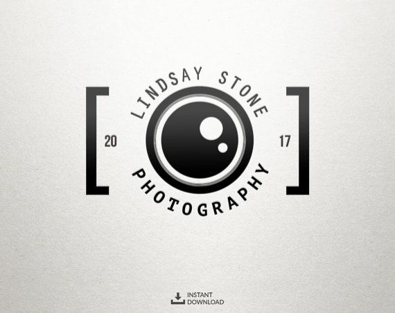 Camera Logo, Photography Logo, Instant Download Logo, DIY.