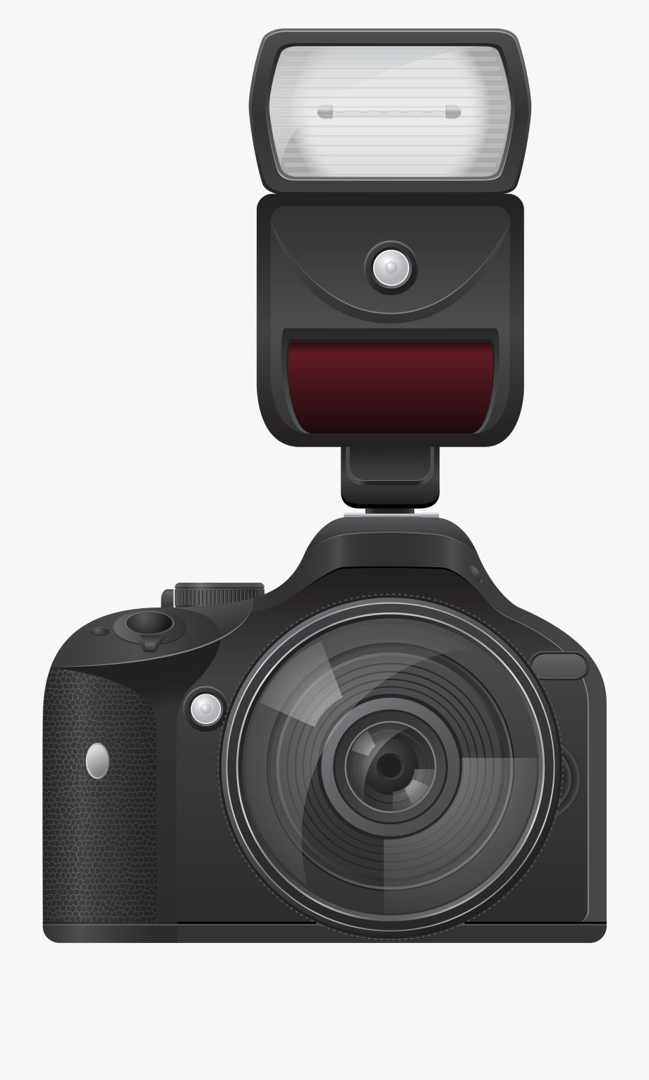 Camera With Flash Clipart.