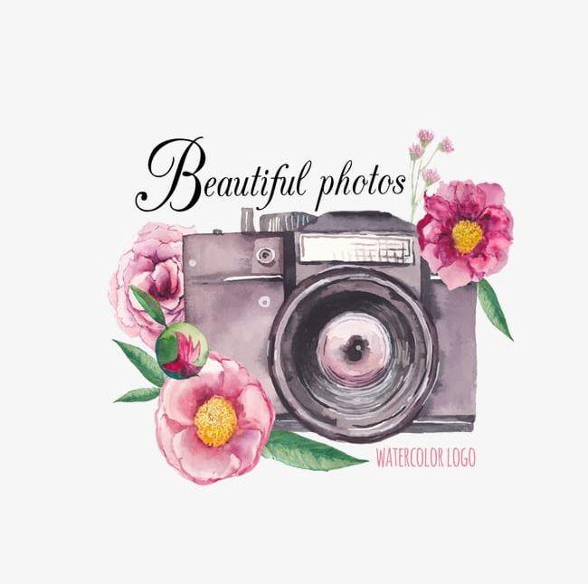 Watercolor Flowers Camera PNG, Clipart, Camera, Camera.