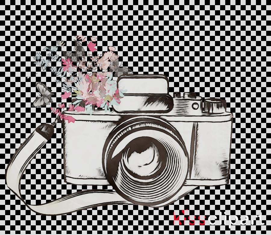 Camera Sketch clipart.