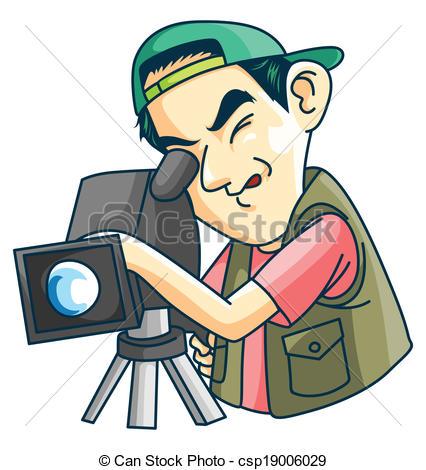 Cameraman Clip Art and Stock Illustrations. 2,905 Cameraman EPS.