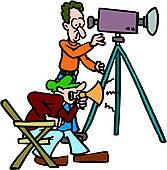 Camera man Clip Art Illustrations. 6,791 camera man clipart EPS.