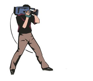 Clipart cameraman.