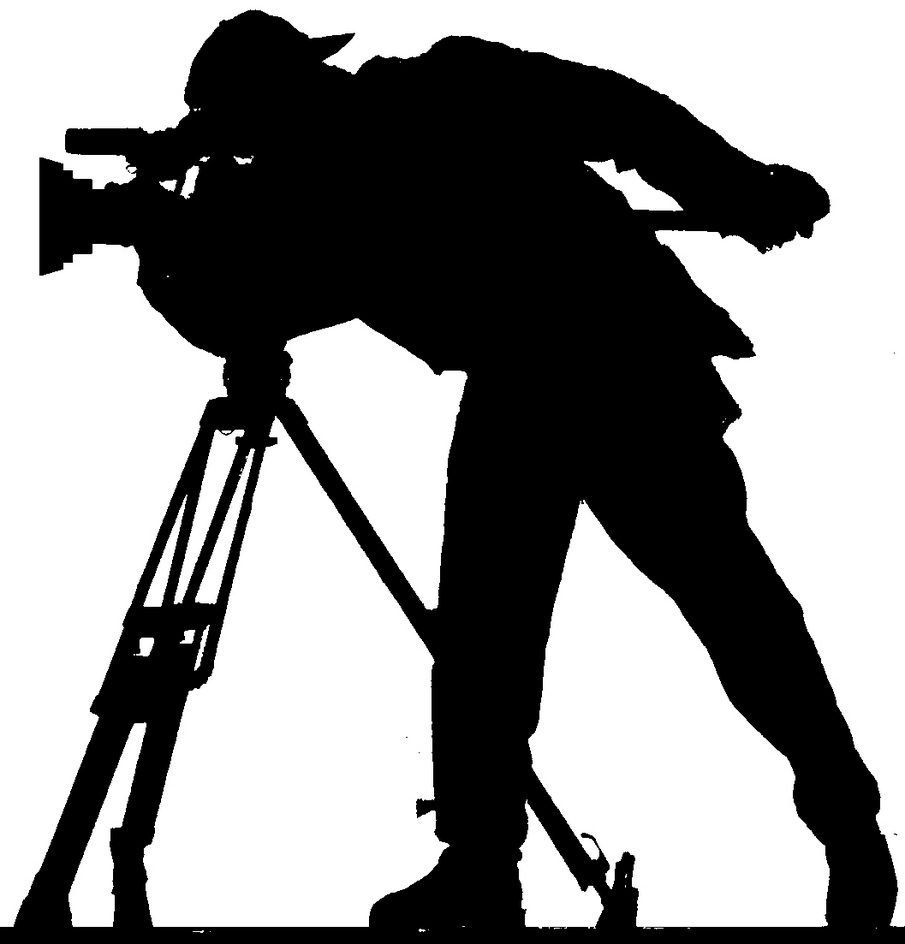 Cameraman clipart.