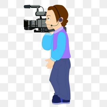 Cameraman Png, Vector, PSD, and Clipart With Transparent Background.