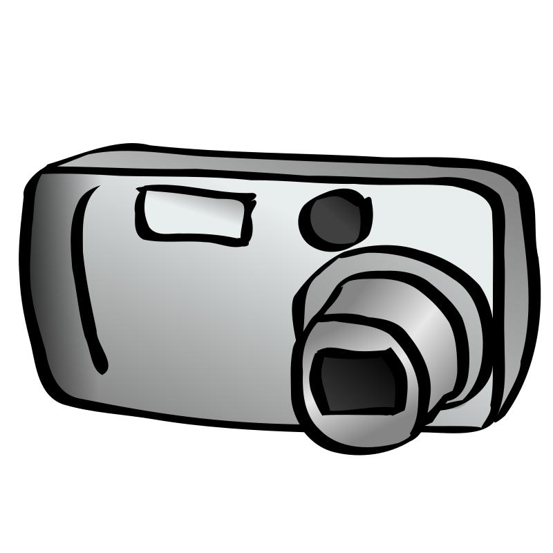 Cartoon Cameras Clipart.