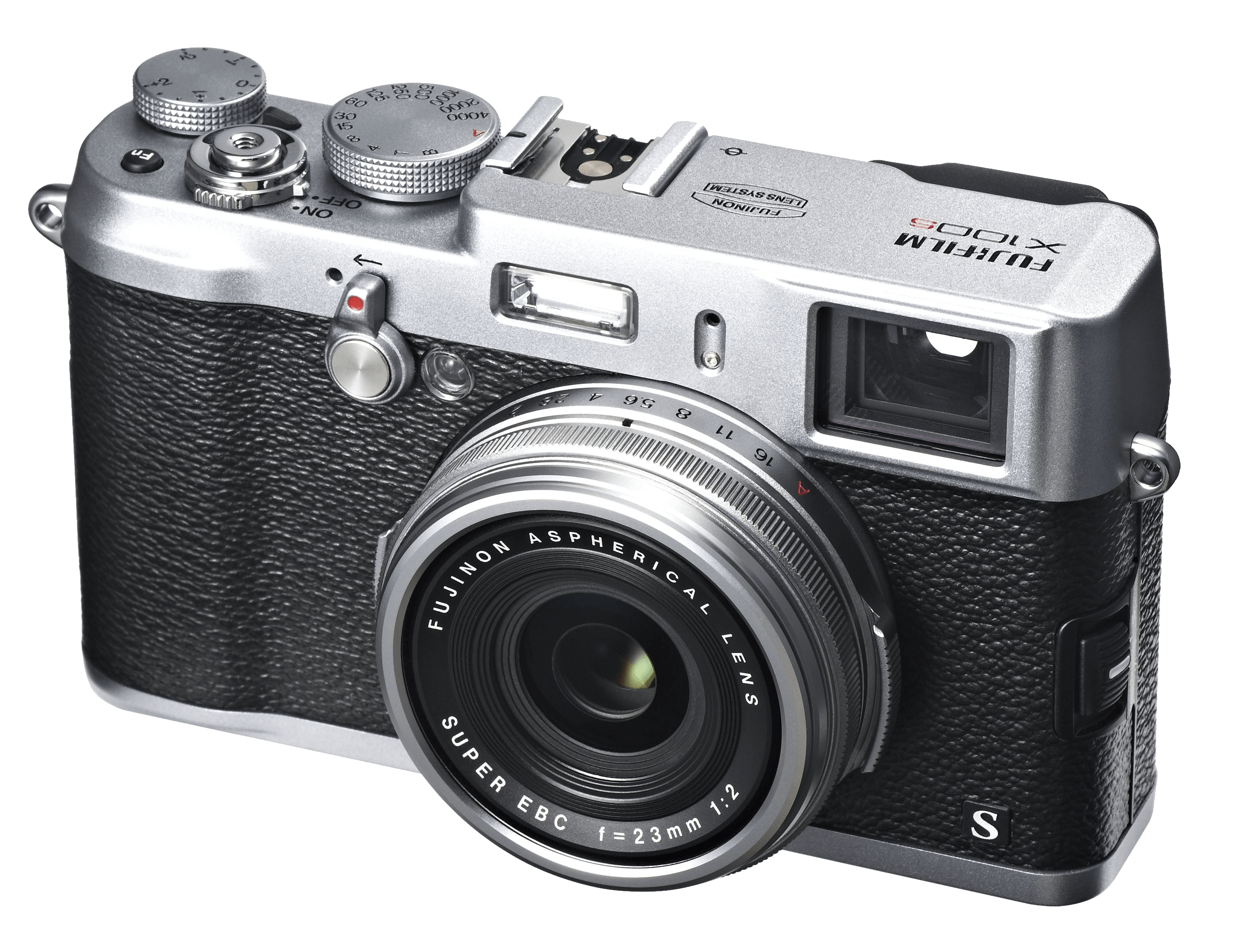 Fuji X100s Photo Camera transparent PNG.