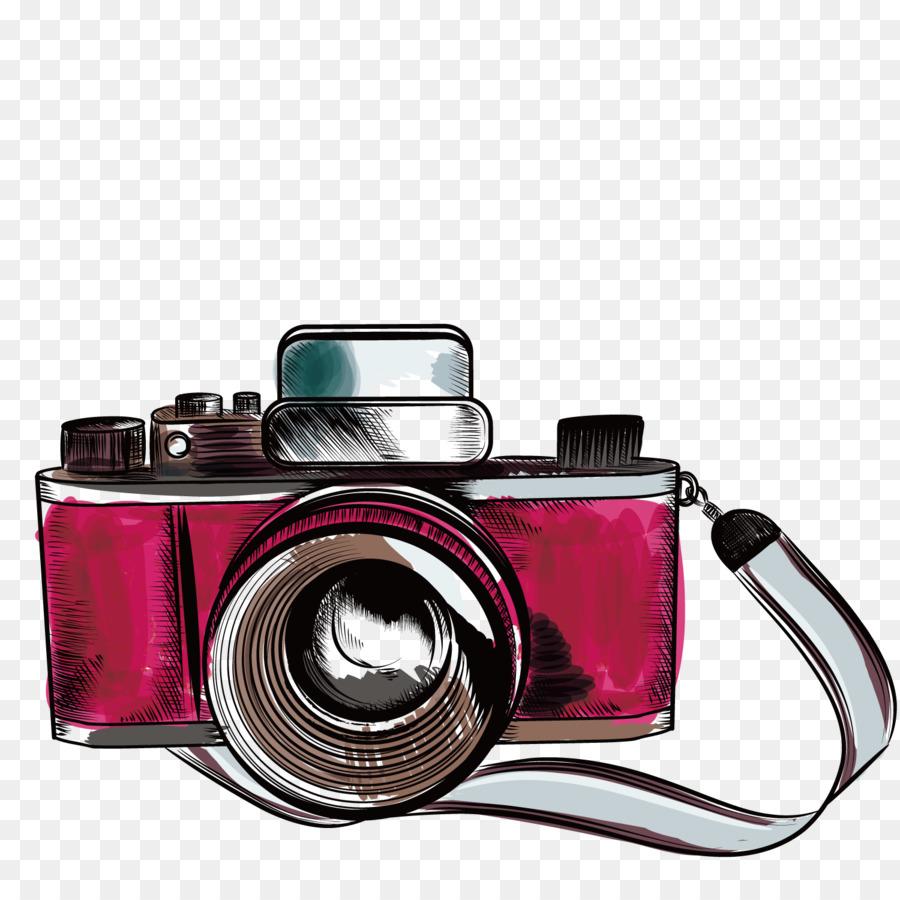 Vintage Camera png download.