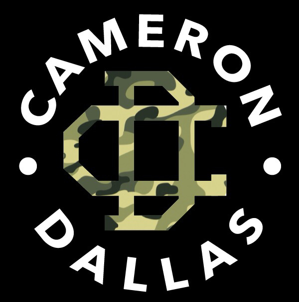 Cameron Dallas logo shared by Moni on We Heart It.