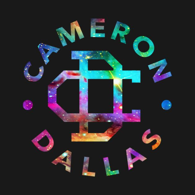 Check out this awesome \'cameron+dallas+logo+galaxy\' design.