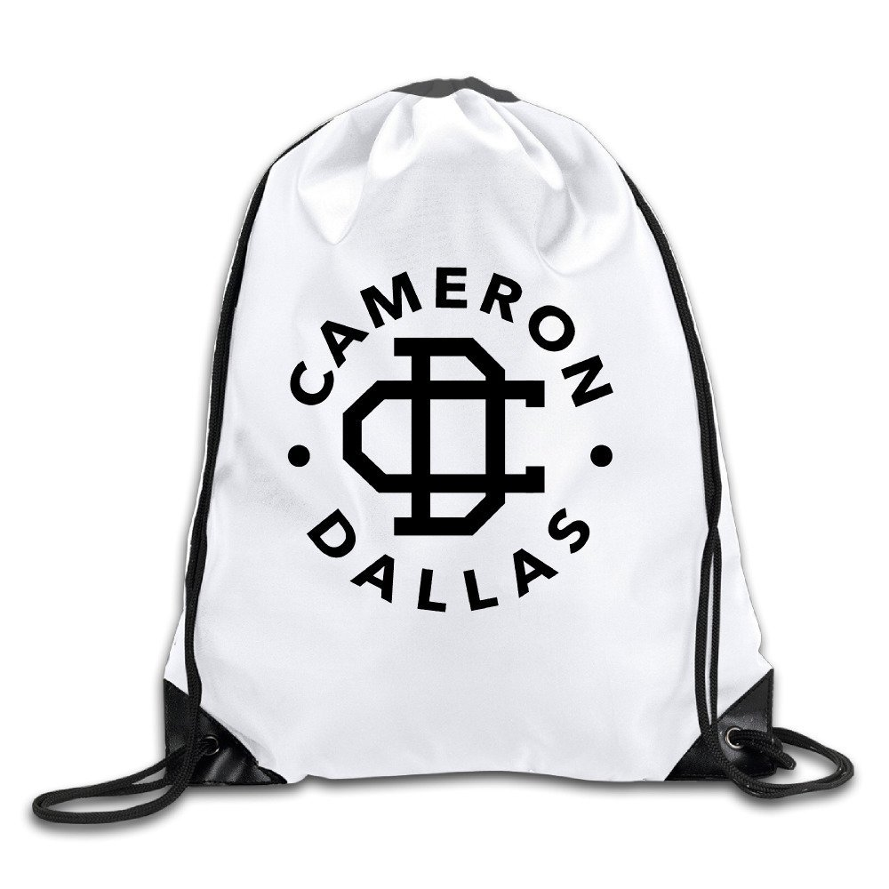 Amazon.com: LOKIKA Cameron Dallas Logo Sackpack Team.