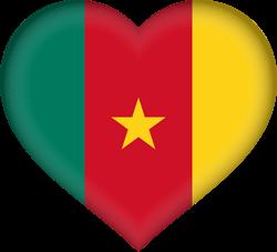 Cameroon flag clipart.