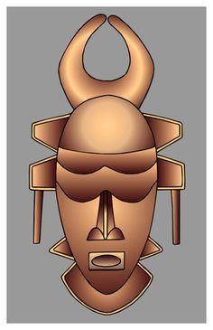 A Banyangi mask from the Cameroon grasslands. http://www.
