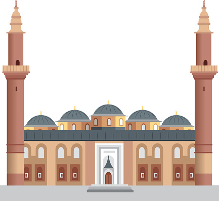 Ulu Cami Clip Art, Vector Images & Illustrations.