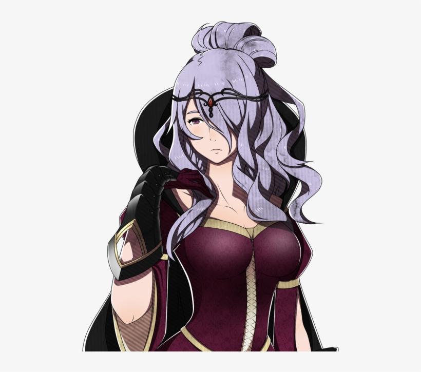 Fire Emblem Warriors Maid Camilla.