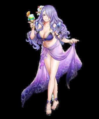 Camilla: Tropical Beauty.