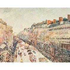 """La Machine De Marly At Bougival,"""" Camille Pissarro, 1869."""
