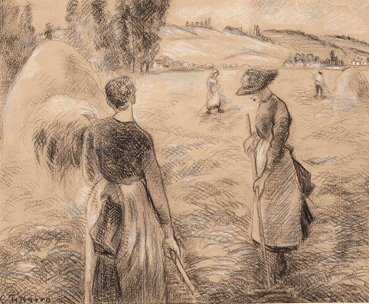 Camille Pissarro: Reaping the rewards.