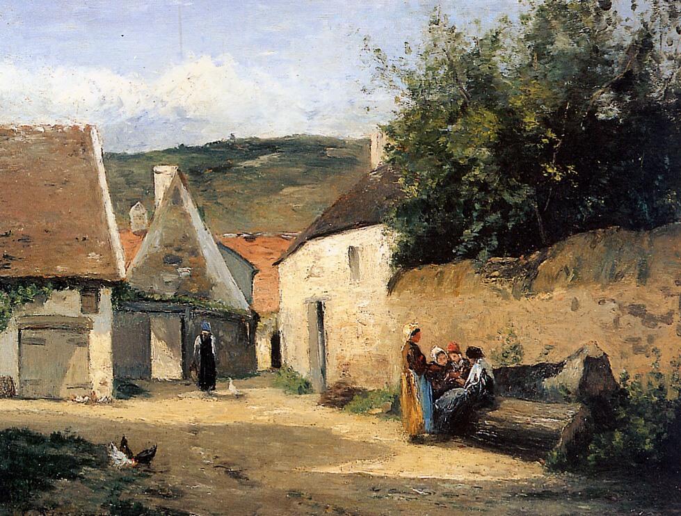 Camille Pissarro Paintings 3.