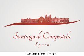 Santiago de compostela Clipart Vector Graphics. 16 Santiago de.