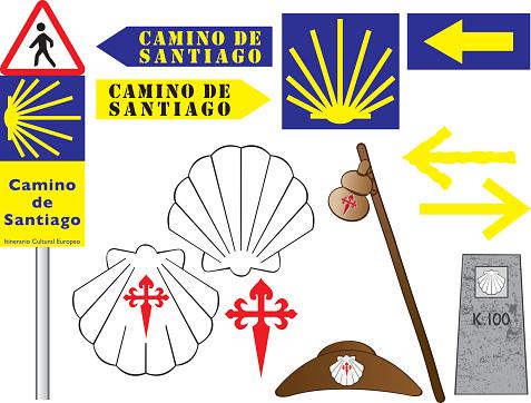 Camino De Santiago Clip Art, Vector Images & Illustrations.